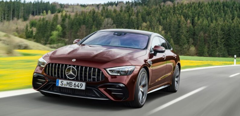 Mercedes-AMG GT 4-Door coupe gets a facelift for 2021