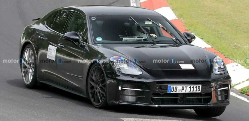 Mysterious Porsche Panamera Spied Again, This Time At The Nurburgring