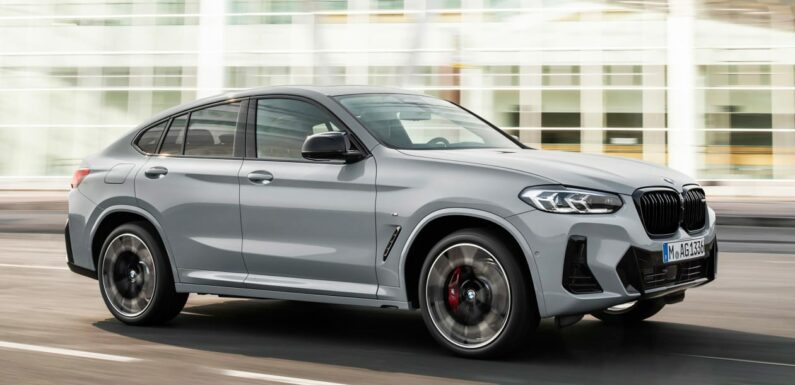 New 2021 BMW X4 facelift arrives with new look inside and out