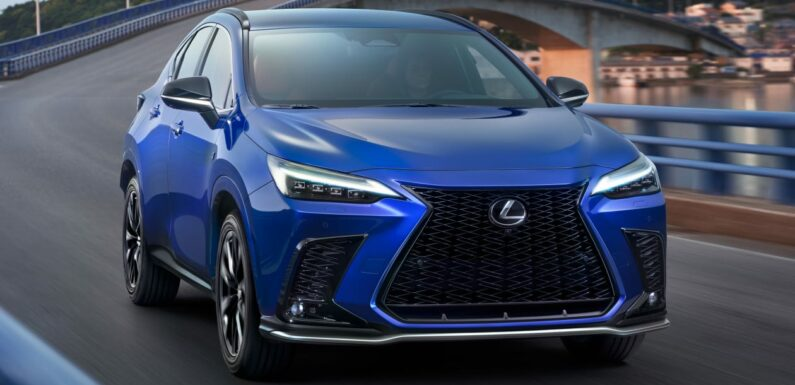 New 2021 Lexus NX arrives with firm's first plug-in hybrid drivetrain
