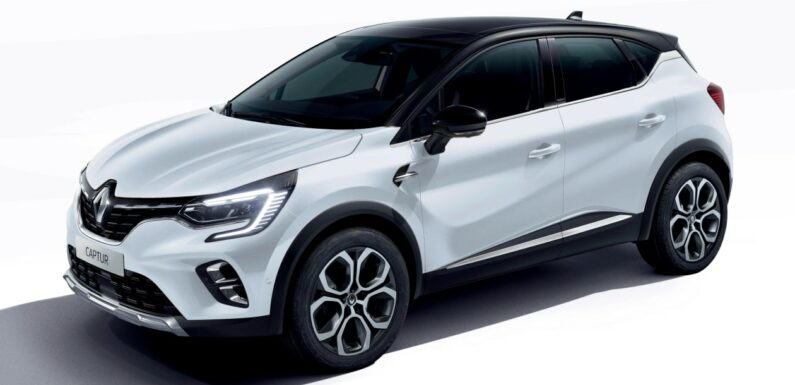 New 2021 Renault Captur E-Tech Hybrid on sale from £24,500