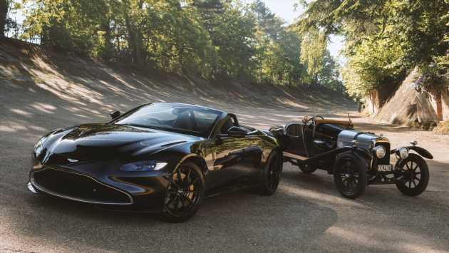 New Aston Martin A3 Vantage Roadster inspired by brand's oldest surviving car
