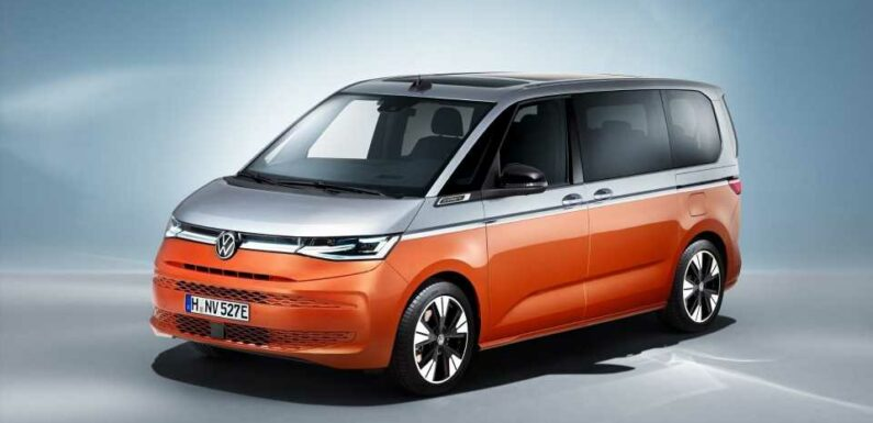 New VW Multivan Is the Hybrid Commercial Car We Want But Probably Don't Deserve