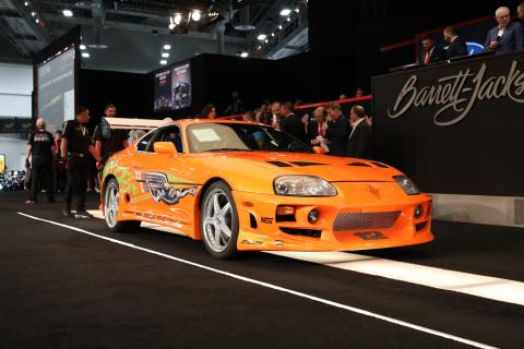 Paul Walker's Toyota Supra auctioned for Rs. 4.08 crore