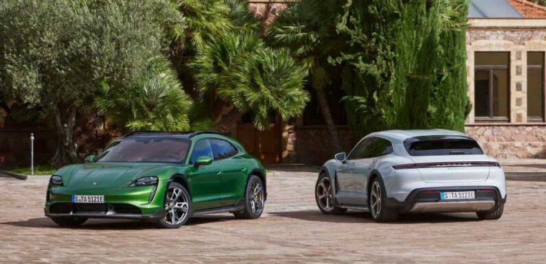 Porsche Taycan Cross Turismo Gets Official EPA Range Ratings