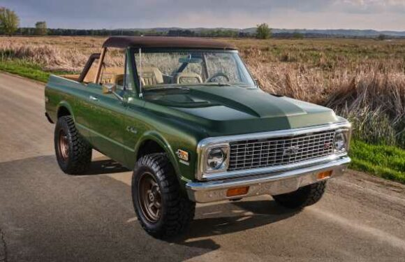 Ringbrothers Builds Custom 1970 Chevrolet K5 Blazer for Charity