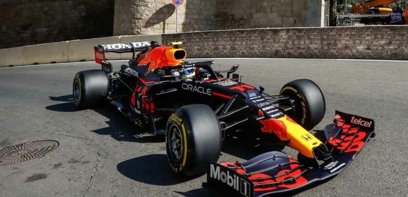 Sergio Perez confident of continuing Baku form