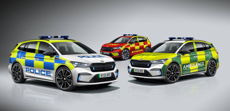 Skoda launches new Enyaq iV designed for emergency services