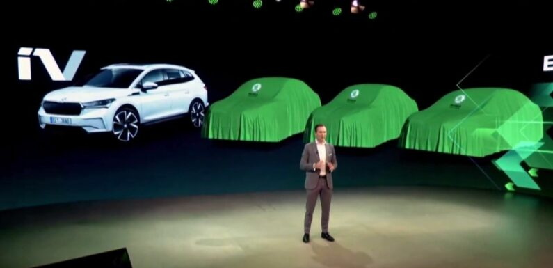 Skoda presents its roadmap for the future – three new EVs positioned below Enyaq iV; market expansion – paultan.org