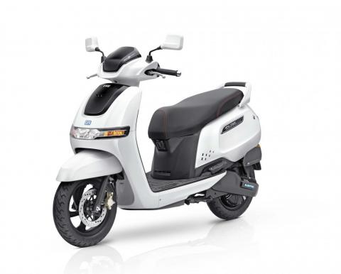 TVS iQube e-scooter launched in Pune; priced at Rs. 1.11 lakh