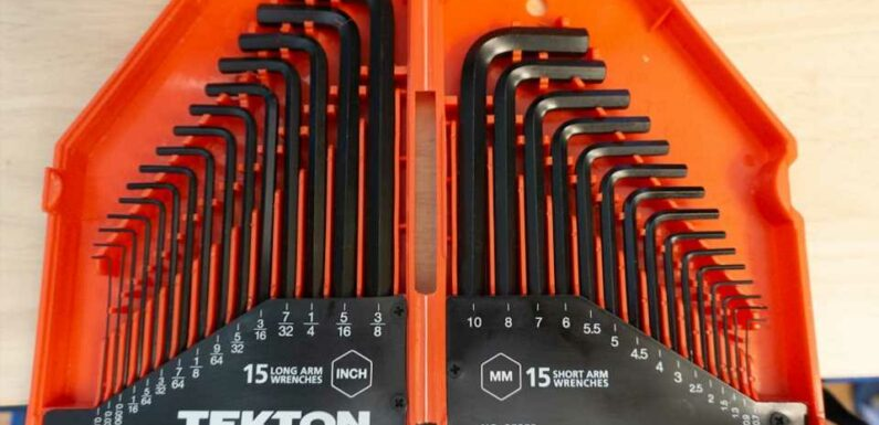 Tekton's 30-Piece Hex Key Set Is the Most Dynamic Set Ever — Maybe