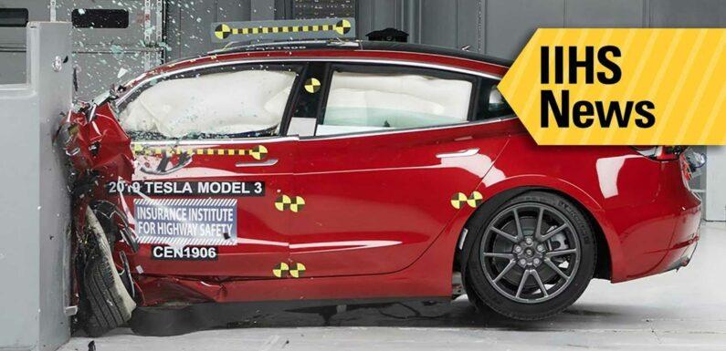 Tesla Model 3 Driver And Passengers Survive Crash Off A Cliff