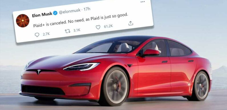 Tesla Model S Plaid+ Axed Days Before Launch Because Regular One Is 'Just So Good'
