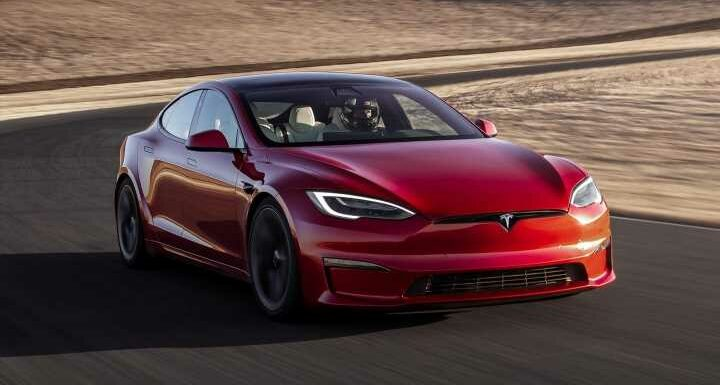 Tesla confirms Model S Plaid performance