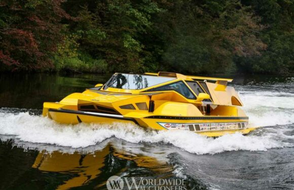 The 762 HP Hydrocar Could Be Your Ticket To Amphibious Adventure