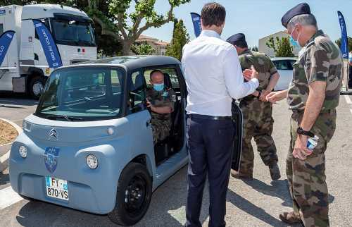 The 8-HP Citroën Ami Electric Vehicle Joins the French Army