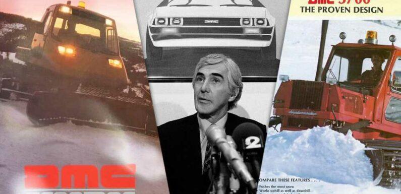 The Strange Story of John DeLorean's Snowcat Factory Is Even More Bizarre Than the DMC-12