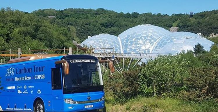Tourists left stranded after electric coach fails to find charging point