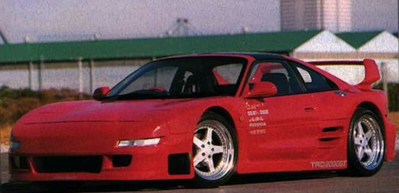 Toyota Built a Limited Number of Widebody MR2s in the '90s, and Now's Your Chance to Buy One