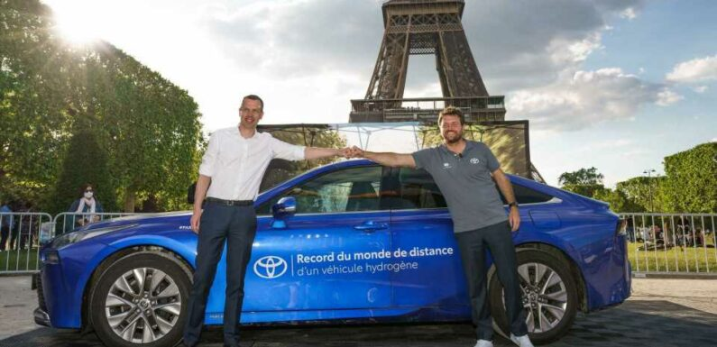 Toyota Mirai Sets World Record For Distance Traveled On Hydrogen