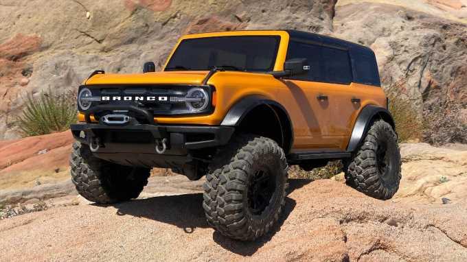 Traxxas TRX-4 Ford Bronco R/C Car Off-Road Review