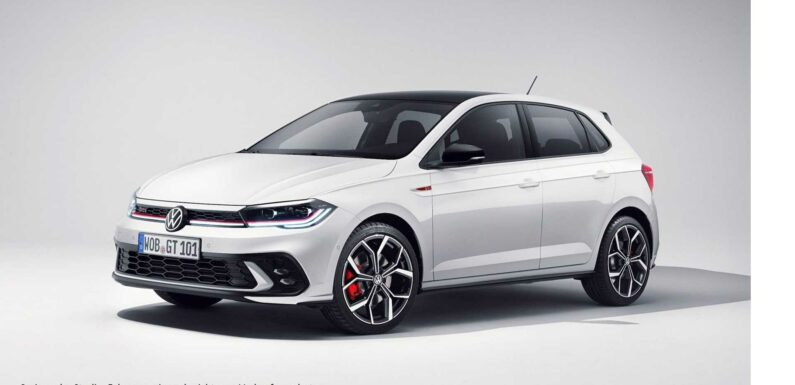 VW Polo GTI Facelift First Official Images Released