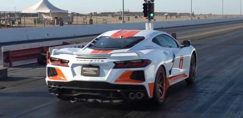 Watch Emelia Hartford's C8 Corvette Set New Quarter-Mile Record