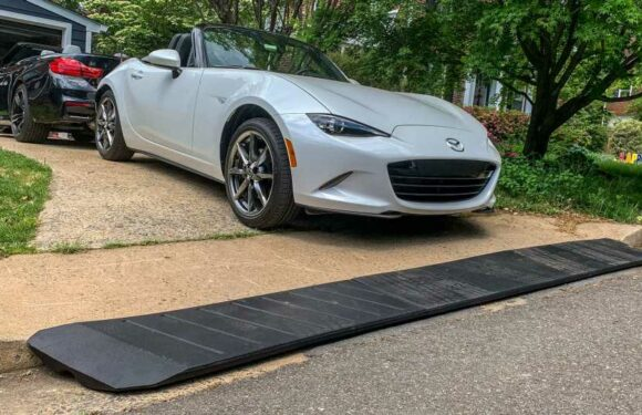 Will the BRIDJIT Three-Piece Expandable Curb Ramp Keep Our Bumpers Safe?