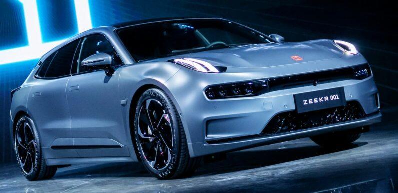 Zeekr 001 – Geely's premium EV sold out in China – paultan.org