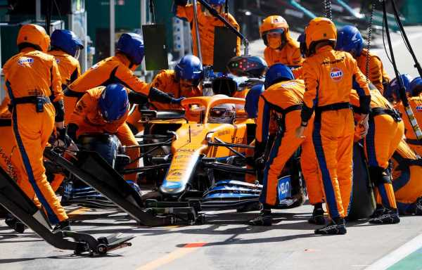 'Pit crew not to blame' for slow Lando Norris stop at Silverstone