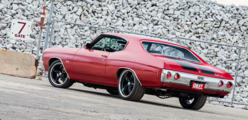 1971 Chevy Chevelle Combines Classic Styling With Modern Performance