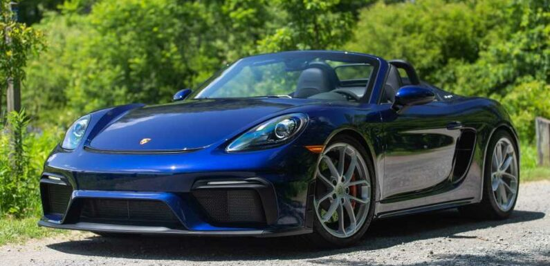 2021 Porsche 718 Boxster Spyder Review: There Is Joy Still Left in Driving