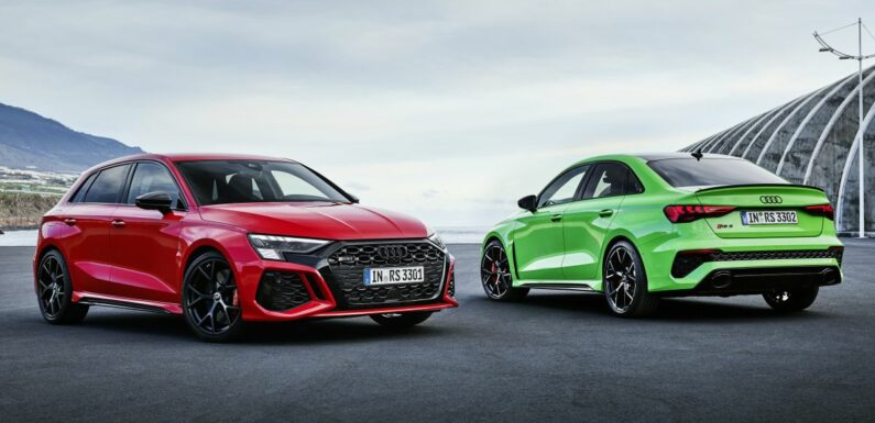 2022 Audi RS3 Sportback and RS3 Sedan debut – 400 PS/500 Nm 2.5 litre TFSI, Torque Splitter rear axle – paultan.org