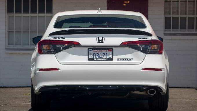 2022 Honda Civic Sedan Looks Good With HPD Exterior Kit