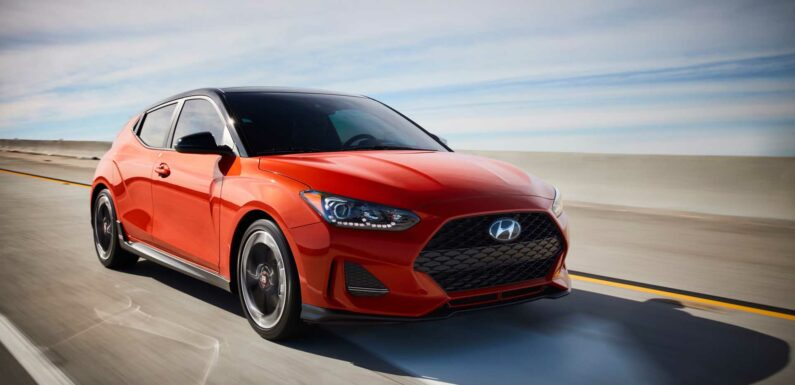 2022 Hyundai Veloster will only live on in N form