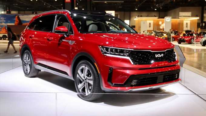2022 Kia Sorento First Look Review: New Badging for the Midsize SUV