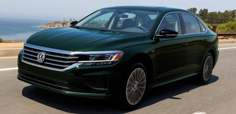 2022 Volkswagen Passat Limited Edition debuts in the US – only 1,973 units; assembly of sedan set to end – paultan.org