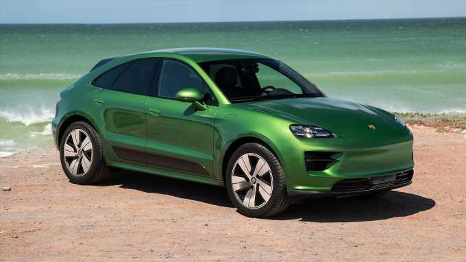 2024 Porsche Macan EV Future Cars: The Electric Version of Porsche's Small SUV