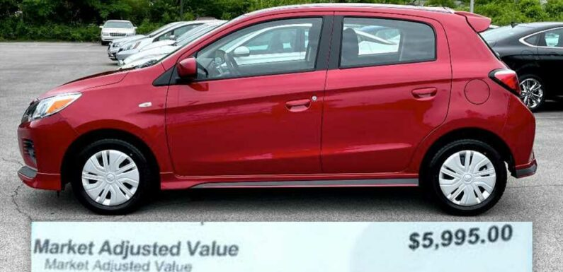 $5,995 Markup on a Mitsubishi Mirage Is the Latest Outrageous Dealership Story