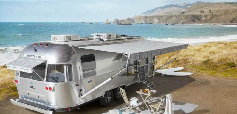 Airstream And Pottery Barn Partner On Travel Trailer With Bright Style