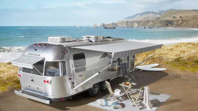 Airstream Pottery Barn Special Edition Travel Trailer Debuts