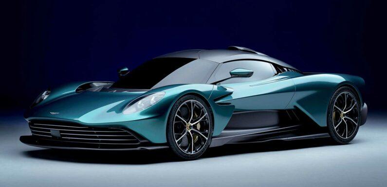 Aston Martin Valhalla Production Model Gets Hybrid V8 With 937 HP