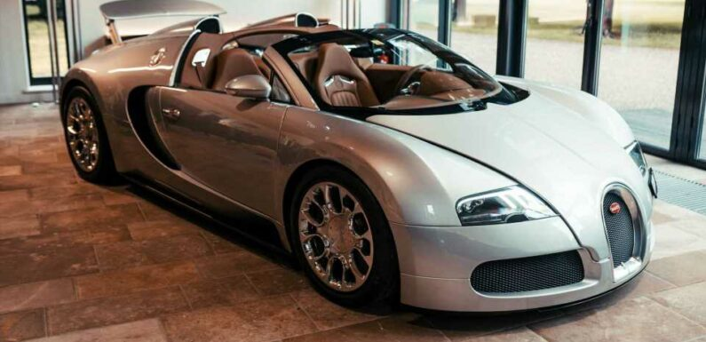 Bugatti Needed Four Months To Restore This Special 2008 Veyron