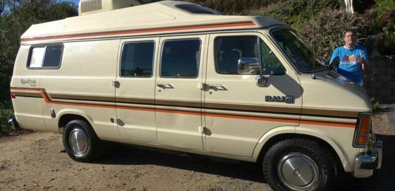 Doug Demuro Highlights Quirks And Features Of 1987 Dodge Camper Van