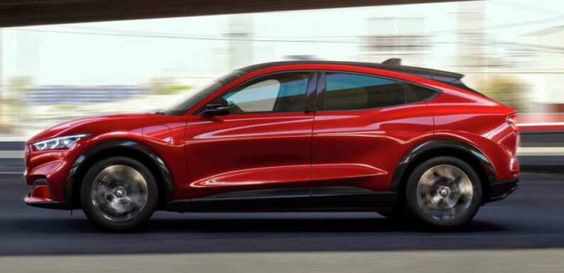 Electric 2021 Ford Mustang Mach-E Outsold the Regular Mustang in June