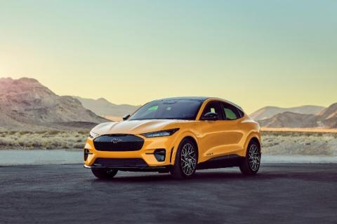 Electric Mustang outsells petrol Mustang for the 1st time