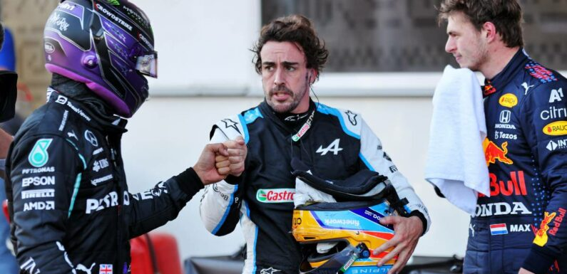Fernando Alonso on Lewis-Max clash: You can't just disappear | Planet F1