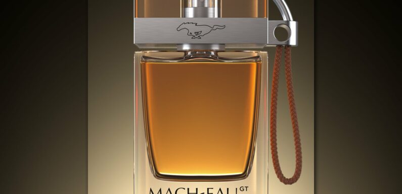 Ford's 'Mach-Eau' Cologne Is for EV Owners Who Miss Engine Smells