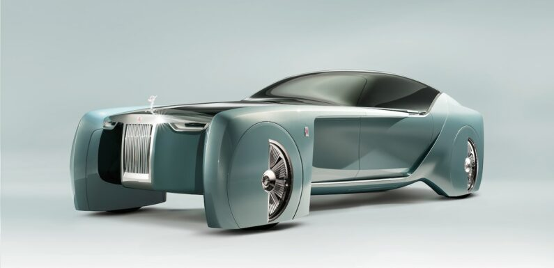 Future Cars: The 2023 Rolls-Royce Silent Shadow Is the Upper-Crust EV