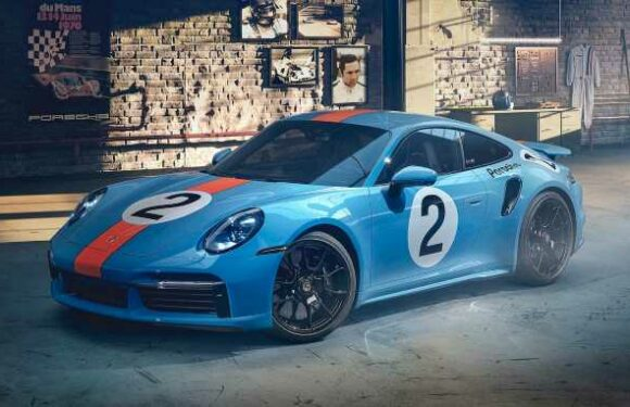Gorgeous One-Off Porsche 911 Turbo S Honors Mexican Racing Legend